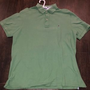 Large Custom Fit Tommy Hilfiger Polo